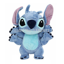 Lilo and Stitch Toy 626 Experiment 4 Hands Stitch Plush Figure Doll 22cm Cute Stuffed Animals Baby Kids Toys for Children Gifts