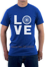 Love Cycler - Bicycle Riders Gift Idea - BikerLover T-Shirt Novelty Gift Idea(China)