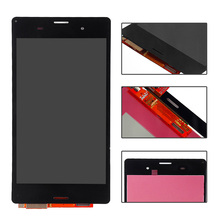 "5.0"" NEW white black lcd display touch screen digitizer full Assembly with tools adhesive For Sony xperia z3 D6603 D6653 L55t"