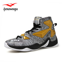 Lebronlys XIII elite 12 13 Cool Basketball 2017 Spring New Basketball Shoes For Men Sports Outdoor shoes Plus size Sneakers(China)