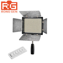 Yongnuo YN-300 LED Illumination Dimming Video Light Lamp with Remote Control for Canon Nikon SLR Camera