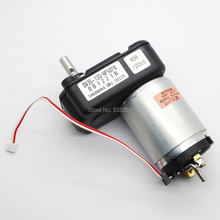 NEW MITSUMI 545 DC MOTOR 7 font All Metal Gear MOTOR DC12-30V 55-120RPM DC Geared Motor 8KG.F.CM Great for DIY Hand generator(China)