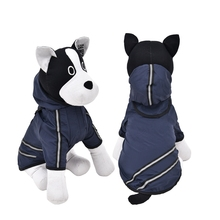 Hot sale Free shipping Rain Coat Fashion Jacket Clothes Cheap Dog Raincoats Puppies Dog Coats Casual Waterproof 4 Colors(China)