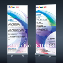 Roll up banner,Pull up banner, Custom logo printing banner,200X80cm, Outdoor banner(China)
