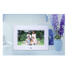 New 7 inch Digital Photo Frame HD LCD Full-view porta retrato electronic Alarm Clock Slideshow Calendar MP3 MP4 Movie Player(China)