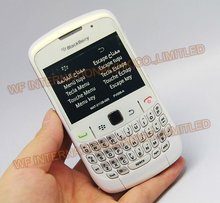 Original BlackBerry 8520 Curve Mobile Phone Smartphone Unlocked 3G WIFI Bluetooth 8520 Cellphone & White