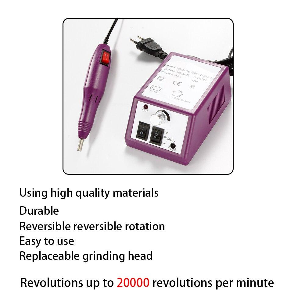 Приборы для ухода за лицом Электрический аппарат для маникюра 20000RPM (Фото 3)