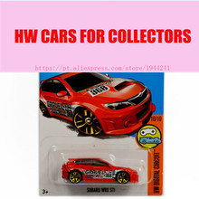 Toy cars 2016 New Hot Wheels 1:64 subaru wrx sti car Models Metal Diecast Car Collection Kids Toys Vehicle Juguetes(China)