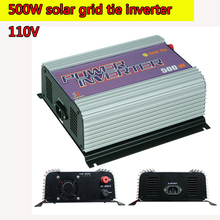 500W 110V Grid Tie Inverter Pure Sine Wave MPPT Function 10.8V to 30V and 22V to 60V Input Low Cost and Easy Installation NEW(China)