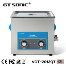 Professional industrial factory use ultrasonic cleaner 13L for carburetor cleaning machine 40KHz China supplier VGT-2013QT