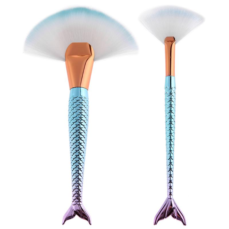 Mermaid Super Soft Makeup Brushes