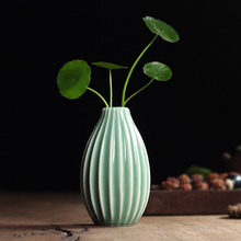 9 Types Hot Sale Traditional Chinese Longquan Celadon Porcelain Tabletop Vase Decoration Unique Design Special Type Low Price
