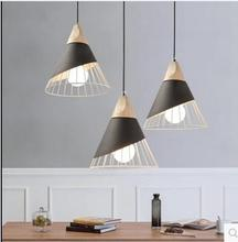 personality simple single head Chandelier Nordic living room bar table lamp bedside bedroom restaurant creative CL(China)