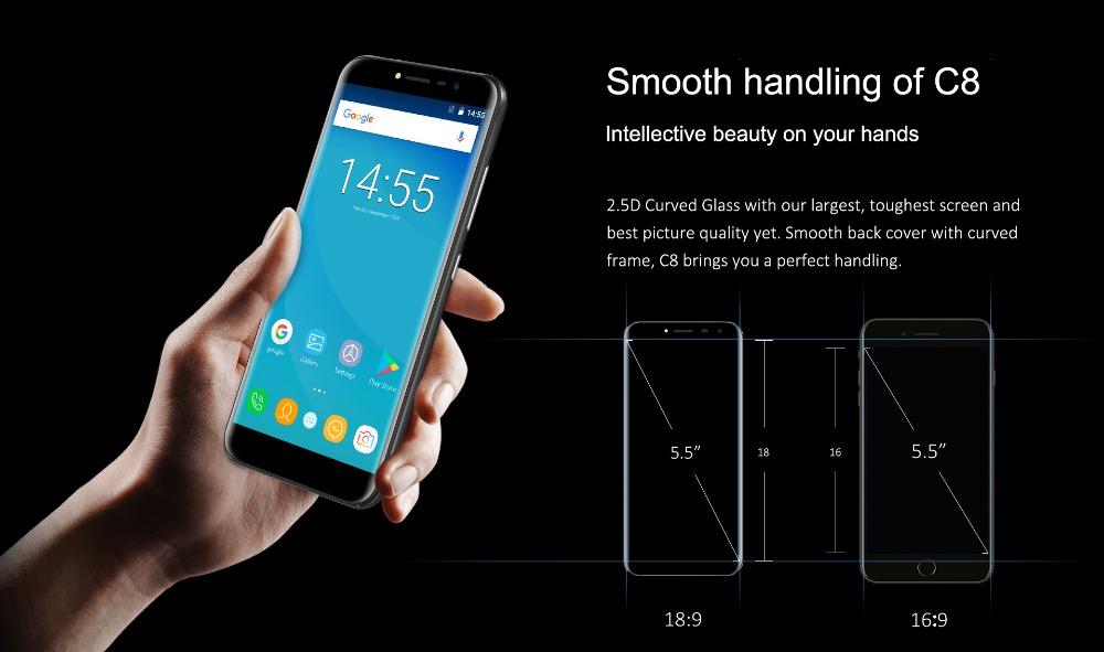oukitel c8 Smartphone (8)