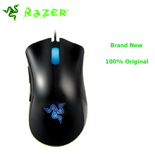 Brand New Razer Deathadder 3.5G 3500DPI Gaming Mouse + Razer Goliathus Computer Wired Mice 100% original/ Big Promotion