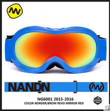 NANDN NH6001 Snowboard Kids Ski Goggles New Arrival Children Skiing Eyewear Gafas Motocross Protective Glasses Gafas Esqui