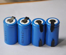 20% OFF 4PCS UNITEK Sub C sc 1.2V rechargeable battery 2000mah ni-mh nimh cell with tab for power tools,vacuum cleaner