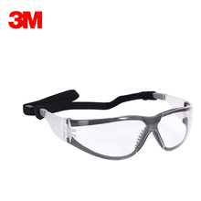 3M 11394 Safety Gasses Windproof Anti-uv  Protective Glasses Working Eyeglasses Transparent lenses G1510