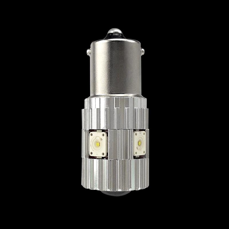 CNSUNNYLIGHT 2pcs 1156 LED BA15S P21W BAU15S PY21W S25 5Osram Chips 6000K White DRL Car Tail Fog Bulbs Brake Light Reverse Lamp (2)