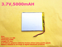 3.7V,5000mAH,[547297] PLIB (polymer lithium ion battery/ATL) Li-ion battery for tablet pc,,,sanei,ampe,ainol,pipo