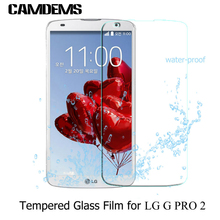 200pcs/lot Tempered Glass screen protector for LG G PRO2 /V10 / LG G2/G2mini/ G3/G3mini/G4 /G4mini /G5 Toughened Protective Film