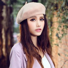 Hot Sale 2015 Women Hat Candy Color Girls Headgear Cap(China)