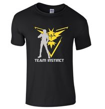 Team Valor Mystic Instinct T-Shirt Pokemon GO Nerd Gift Fan Kids Mens Top T Shirt Summer Style Funny Print Men - greenapple Store store