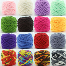 100g Ball Soft Natural Cotton Hand Knitting Yarn Baby Cotton Yarn Knitted Needles Sweater Scarf Shoes
