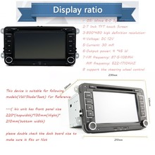 7inch 2din VW Car DVD GPS PC Navigation for VW PASSAT B6 GPS Map radio stereo,bluetooth, FM/AM()