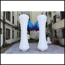 Free shipment 3m height 2016 party decoration inflatable cone with led light(China)
