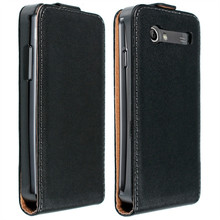 Genuine Leather Flip Case Skin Shell Cover For Samsung Galaxy S Advance I9070 Wholesales