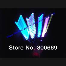 Free Shipping bettery quality LED glow stick, flashing stick led stick flash wand fast delivery discount(China)