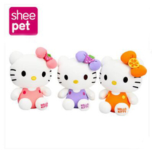 20cm Creative Stuffed Animal Toy Hello Kitty Kimono KT Kawaii Doll Anime Toy For Girl Birthday's Gift Kid Toy(China)