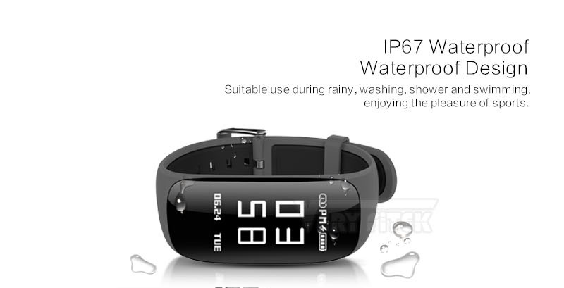 VERYFiTEK V6 Fitness Smart Band Wrist Bracelet Wristband Heart Rate Monitor IP67 Bluetooth 4.2 Smartband For iPhone Android (8) -