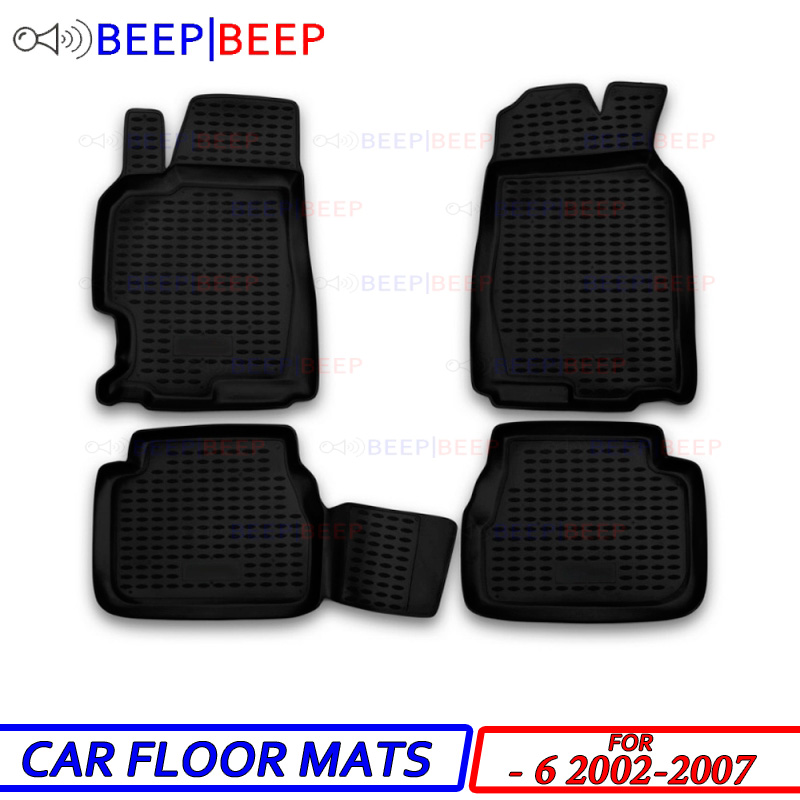 Carpets Car-Floor-Mats Mazda Dustproof for 6-2002-2007 Styling Interior-Decoration-Protection title=
