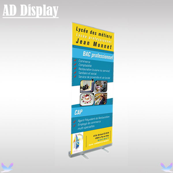 Exhibition Stand Roll Up : Cm kg standard exhibition aluminum retractable roll up