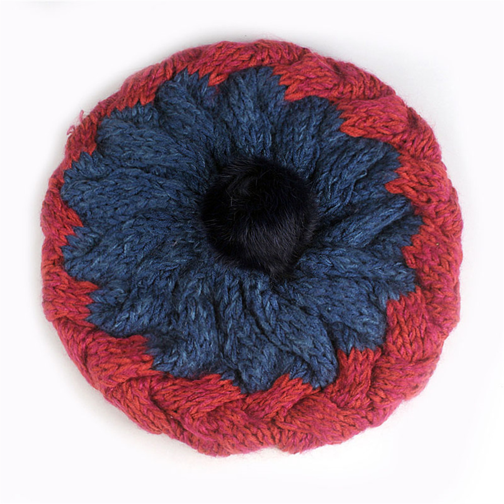 قبعة صوف نسائية 3