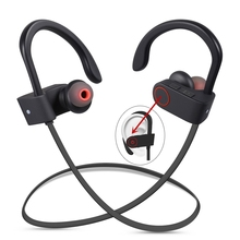 DXVROC Bluetooth Headphone Wireless Sports Headphones Sweatproof Earphones Noise Cancelling Heavy Bass Headset(China)