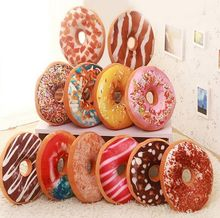 Free Shipping Funny Cartoon Sweet chocolates Donuts Sofa and chair back Cushion Car Mats Student pillow Toy