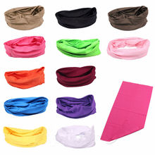 Tube Bandana Head Face Mask Neck Gaiter Snood Headwear Beanie Ring Scarf Multifuction