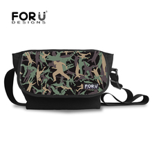 High Quality Men's Camouflage Messenger Bags Cool Student Crossbody Bag for Teenager Boys Casual Children Cotton Shoulder Bag