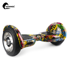 Koowheel 2017 Smart Gyroscope Hoverboard 2 Motors Self Balancing 10 Inch Electric Skateboard Hover Board Standing Scooter(China)