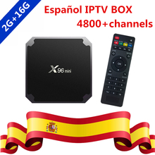Buy Spanish IPTV Swedish Nordic S905W Quad Core Android 7.1 TV Box 1 Year Subscription Europe Spain IPTV Channels iptv Smart TV Box for $61.50 in AliExpress store