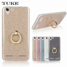 "Brand Tuke Fashion Soft TPU Case For Lenovo K5 A6020 K5 Plus Lemon 3 5"" Soft Silicone Cover Phone Cases  Finger Ring Holder"