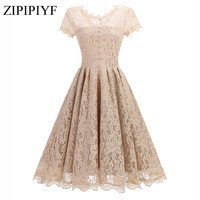Zipipiyf-2017-Vintage-Tunic-Lace-Dress-Female-Robe-Casual-1950s-Rockabilly-Short-Cap-Sleeve-V-Back.jpg_200x200