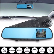 Hot 720P 2.7 Inch Car DVR Camera Half HD Dash Cam Crash Night Vision Rearview DVR G-sensor Video Recorder Dash Cam