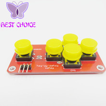 AD Keyboard Simulate Five Key Module Analog Button for Arduino Sensor Expansion Board(China)