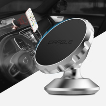 CAFELE Magnetic Car Phone Holder Stand For Iphone 6S Samsung S8 360 Roating Air Vent GPS Mobile Phone Car Holder For HUAWEI HTC