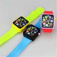 Children Educational Toy Wrist Watch Teaching Music Tone Dynamic Fairy Tale Child Free shipping