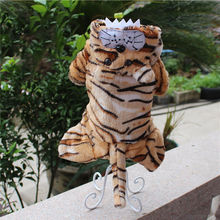 Buy Realistic Tiger Clothing Autumn Winter Pet Dog Cat Clothes Warm Dog Coats Jackets Hoodies Costumes Puppy Small Medium Dogs for $14.30 in AliExpress store
